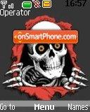 Hello Skull theme screenshot