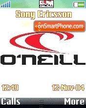 Oneill Surf theme screenshot