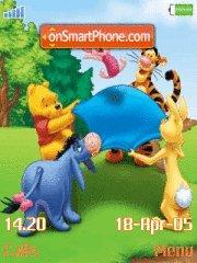 Winnie The Pooh 02 es el tema de pantalla