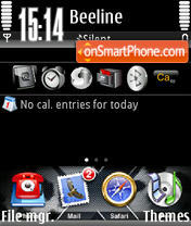 Iphone 02 theme screenshot