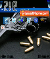 Gun theme screenshot