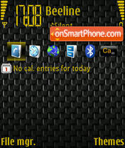 Black Weave theme screenshot