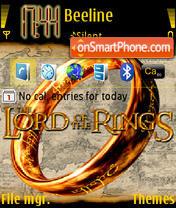 Lord Of The Rings 01 es el tema de pantalla