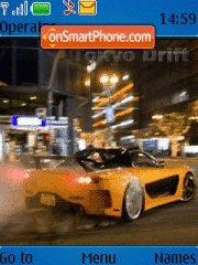 Tokyo Drift 01 theme screenshot