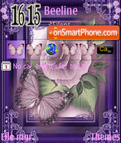 In Lily theme screenshot