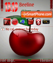 Cherry s60v3 theme screenshot