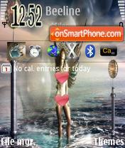 Sea Angel theme screenshot