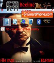 Скриншот темы The Godfather 02