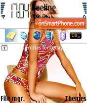 Ana Hickman theme screenshot