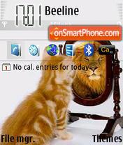 Cat Blur theme screenshot
