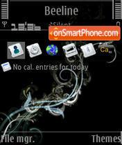 Скриншот темы Electric L'Amour S60v3