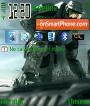 Скриншот темы Halo3new