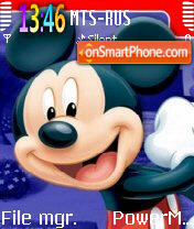 Mickey 04 theme screenshot