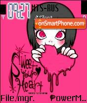 Sweet Your Heart es el tema de pantalla