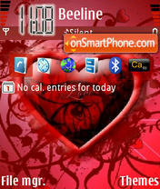 Svvalentine theme screenshot