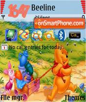 Honey Vinni theme screenshot