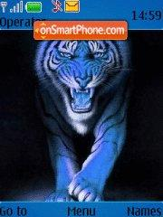 Tiger tema screenshot
