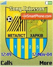 Fc Metalist Kharkov theme screenshot