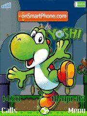 Yoshi es el tema de pantalla