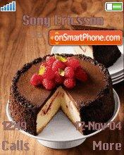 Cake tema screenshot