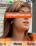 Ayesha Takiya theme screenshot