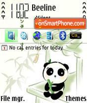 Panda 02 es el tema de pantalla