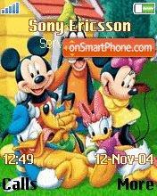 Mickey Family es el tema de pantalla