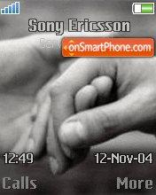 Holding Hands es el tema de pantalla