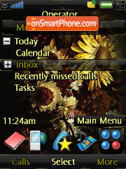 Sun Flower theme screenshot