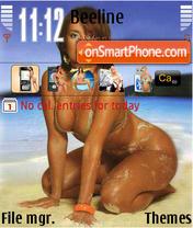 Summer Friske theme screenshot