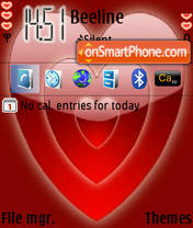 Valentine 05 theme screenshot