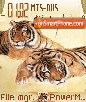 Tiger Love es el tema de pantalla
