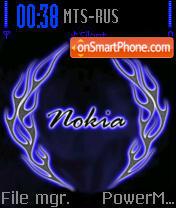 Nokia 7613 theme screenshot