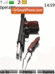 Gun And Knife es el tema de pantalla