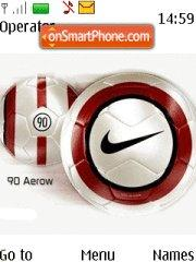 Скриншот темы Nike 07