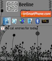 Capture d'écran Grey thème