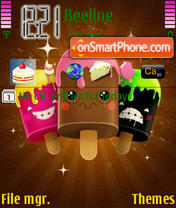 Ice Cream Freak theme screenshot