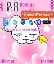 Nice Rabbits theme screenshot