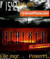 Stalker 08 es el tema de pantalla
