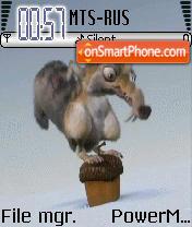 Scrat Nut Animated theme screenshot