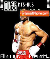 Roy Jones theme screenshot