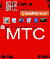 MTS 01 theme screenshot