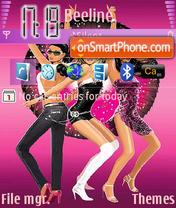 Hed Kandi Disco Pink tema screenshot