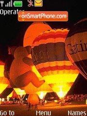 Скриншот темы Balloons 01