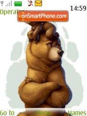 Funny Bear theme screenshot