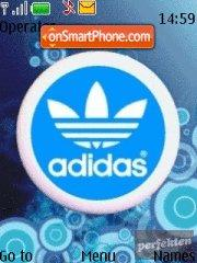 Adidas 24 theme screenshot