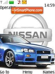 Nissan Skyline 06 theme screenshot