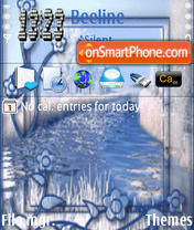 Blue View tema screenshot