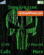Matrix Punisher es el tema de pantalla