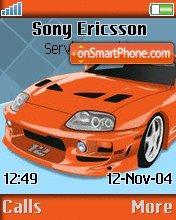 Toyota Supra es el tema de pantalla